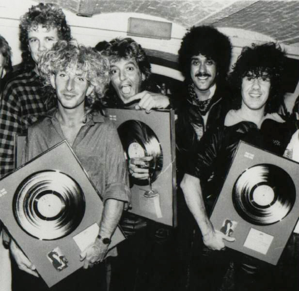 With the Gary Moore Band